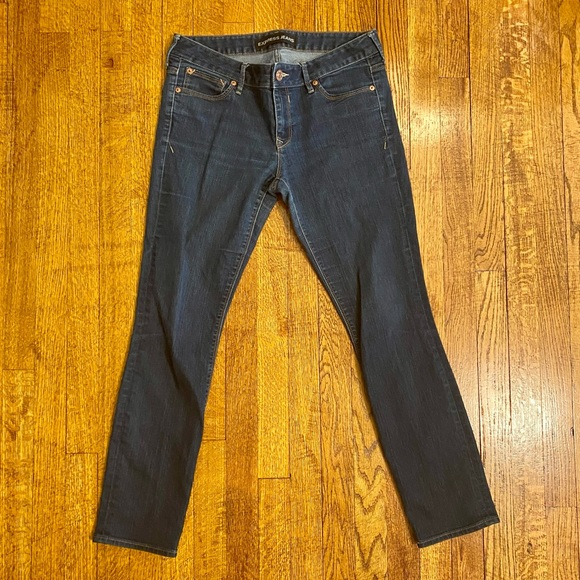 Express Ankle Skinny Lowrise Jeans